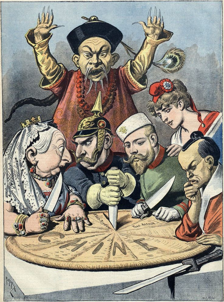 "Resources wiki for APWH - ""China-the Cake of Kings (1898 French Political Cartoon)"