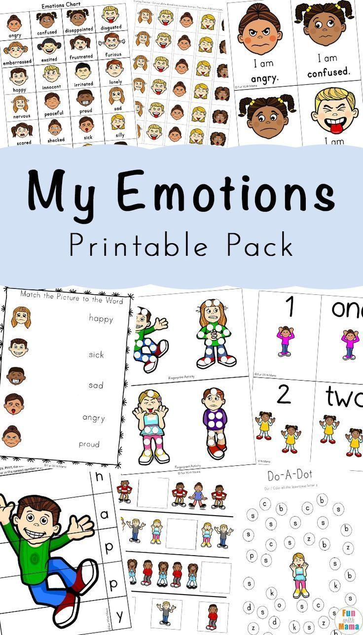 Feelings Activities + Emotions Worksheets For Kids ...