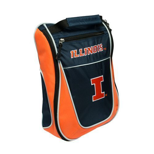Team Golf University of Illinois Golf Shoe Bag - Golf Equipment, Collegiate Golf Products at Academy Sports