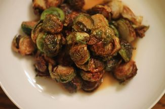 Fried Brussels Sprouts with Apple Gastrique Recipe on Food52, a recipe on Food52