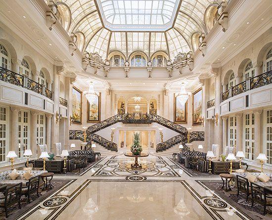 pictures inside luxury hotels | Kathleen Dauber, co-lead designer