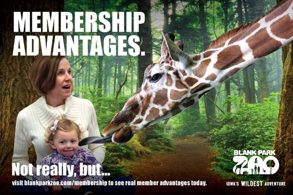 We're tickled about our members. Are you tickled about your membership advantages?   http://www.blankparkzoo.com/en/membership.cfm
