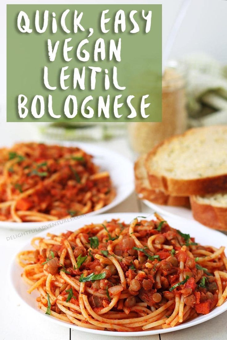 Quick Easy Vegan Bolognese