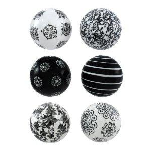 Black And White Decorative Ceramic Balls 33 Best Black And White Ball Ideasdecor Images On Pinterest