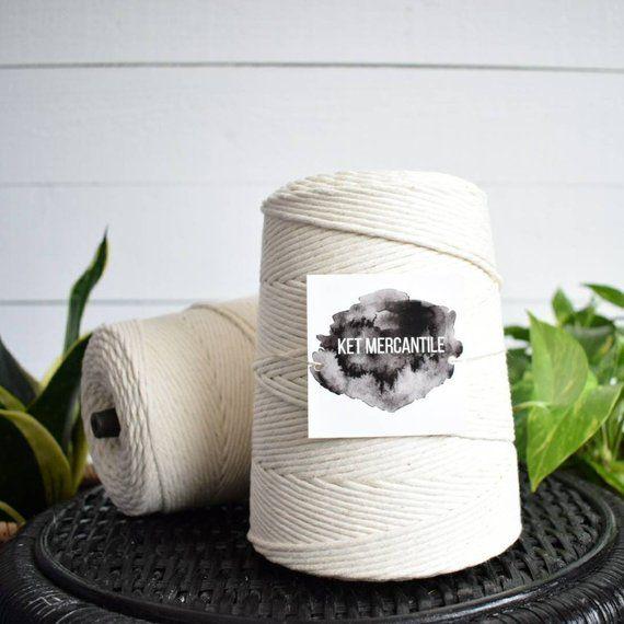Bulk 3mm Macrame Rope Macrame Cord Cotton Rope Macrame Macrame Cord Cotton Rope Macrame Supplies