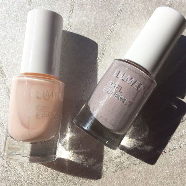 Sophisticated Lumene Nordic Neutrals Fall Collection nail polish shades by Funky and Fifty blog!