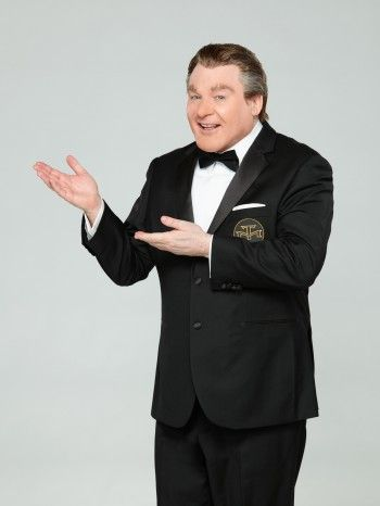 """Watch out, Alex Trebek... there's a new game show host in town, and he's a real character. Actually, Tommy Maitland is a character -- he's played by Mike Myers -- and he'll be hosting the reincarnation of """"The Gong Show."""" Get a look at Mike's new alter ego as he explains the show to us.    #TheGongShow #MikeMyers #ABC #ABCTelevisionNetowrk #GameShows"""