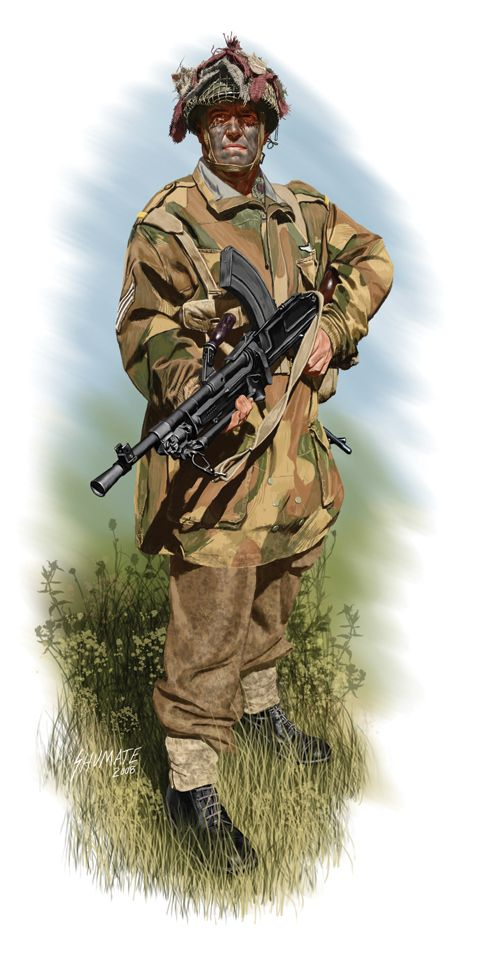 Royal Canadian Army - Airborne Lance Corporal, France 1944