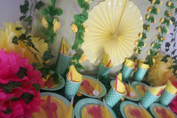 garden party theme, girls garden party, flower party, | life is a party Melbourne, themed party packs, party hire