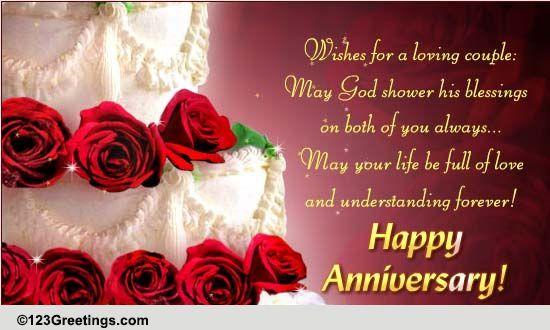 123greetings Com Send An Ecard Happy Wedding Anniversary Message Happy Wedding Anniversary Wishes Wedding Anniversary Message