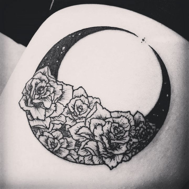 Skin Deep Tales moon tattoo