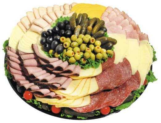 Gourmet Meat And Cheese Tray