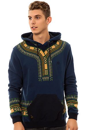 The Dashiki Hoody in Navy by 10 Deep