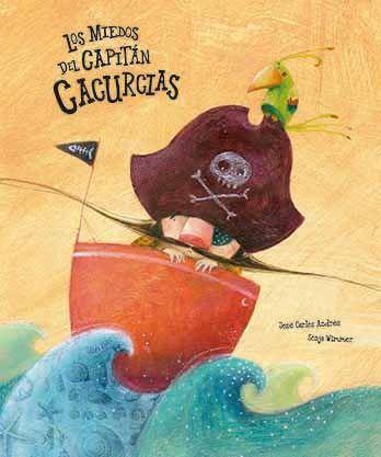 libro infantil Los miedos del capitán cacurcias