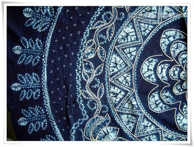 Batik Tie Dye Cotton Tapestry Details Pinterest