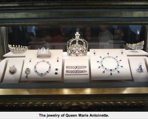 Jewelry of Marie Antoinette