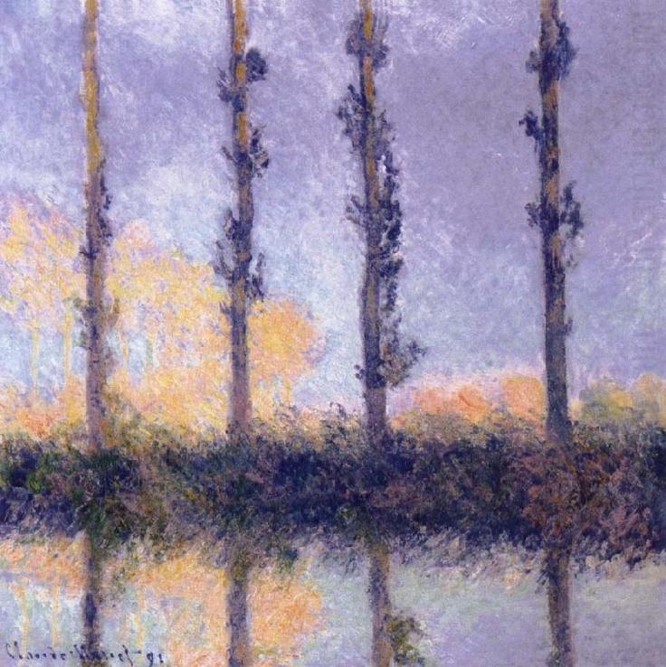 Four Trees - Claude MonetClaude Monet