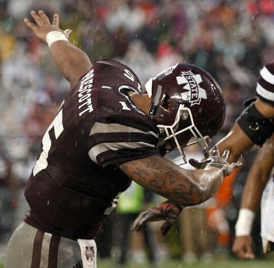 The final curtain call for a true legend! No one will ever replace #15 at Mississippi State.
