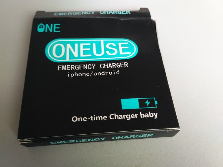 one time use power bank Disposable mobile phone charger for sale