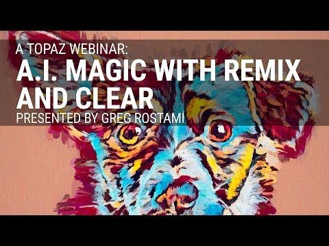 A I  Magic with Remix and Clear presented by Greg Rostami - YouTube