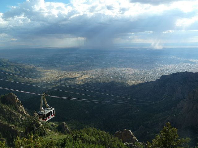 tramway in albuquerque | tram over Albuquerque  The views from the tram are unbelievable.