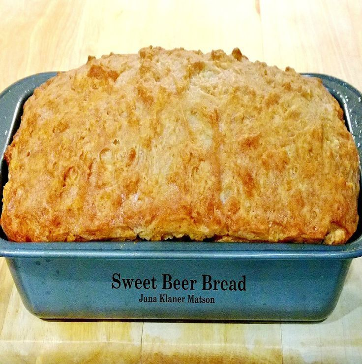 Sweet Beer Bread A VERY easy recipe and makes for a ... - photo#5