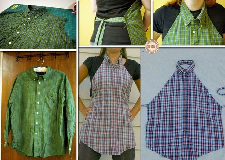 Just because you're taking on a project doesn't mean you have to ruin your clothes. Why not make this DIY men's shirt apron!  Learn how by viewing the full album including a link to instructions on our site at http://theownerbuildernetwork.co/r5hl  Could this be your next project?