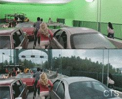 Really Enjoy Seeing The Difference CGI Makes To Movies