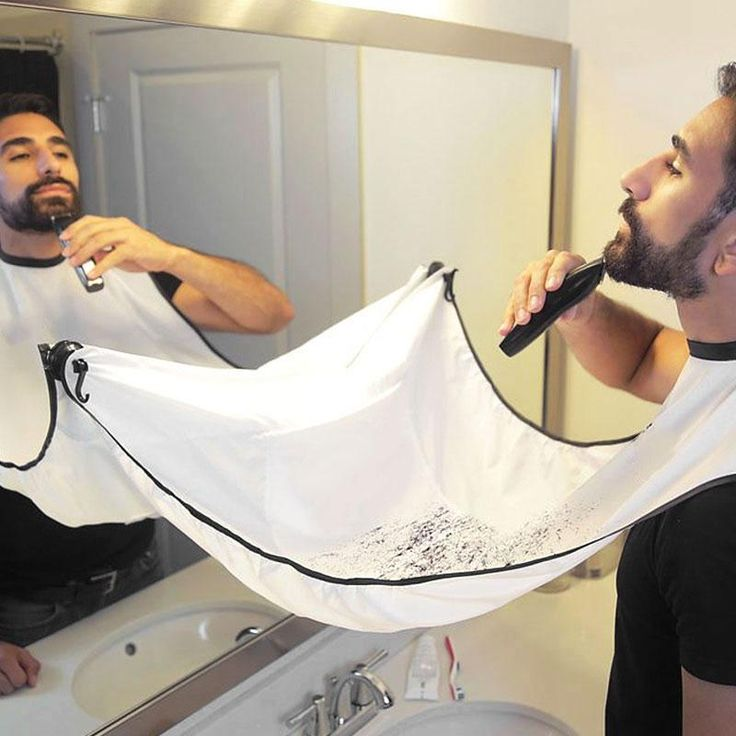Male Beard Apron 2016 New Shaving Aprons Beard Care Clean Beard Catcher New Year Gift For Father Boyfriend Brother 116*73cm