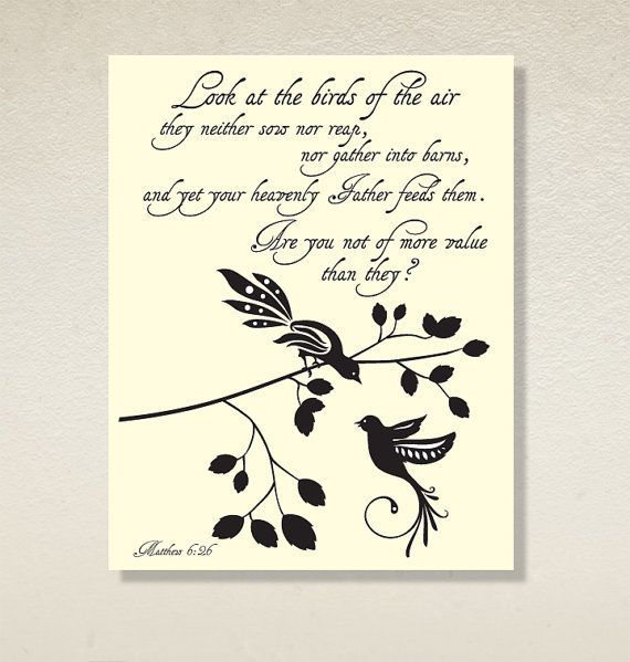 "My Strength: Matthew 6:26 - ""Sparrows"""