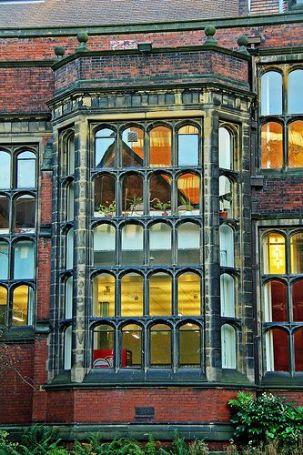Armstrong Building Exterior, Newcastle University, Newcastle on Tyne, England
