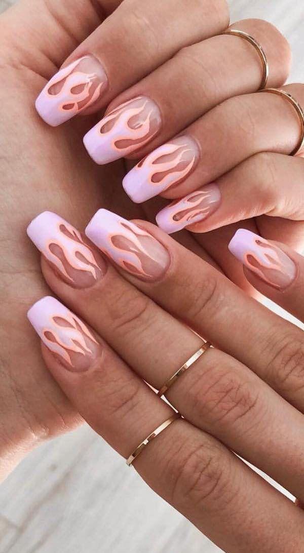42 Stylish And Bright Summer Nail Design Colors And Ideas Styles Art Bright Summer Nails Designs Nail Designs Summer Bright Summer Nails