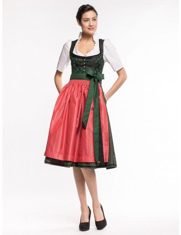 Dirndl Babette in Schwarz von Amsel Fashion