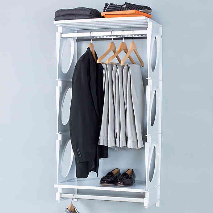 Kio 2 Foot Closet And Shelving Kit Bed Bath Beyond Closet System Closet Organizing Systems Deep Closet