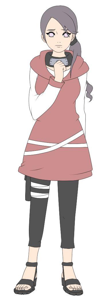 Hyuga Ayame Naruto Style by NinjaAdoptables.deviantart.com on @DeviantArt