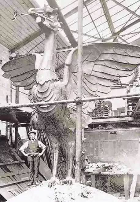 Making of the Liverpool Liver Bird