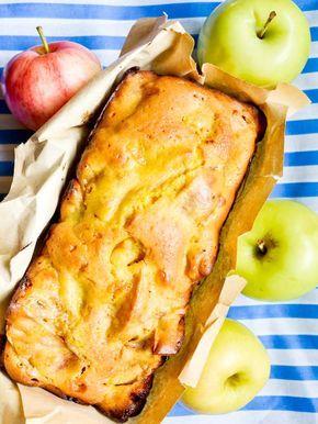 Gratis suikervrije recepten: Speltcake met appel
