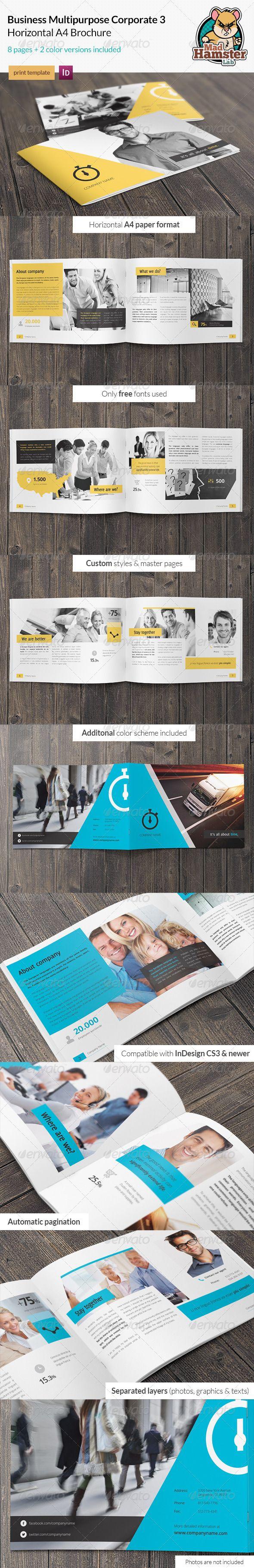 Business / Corporate Multi-purpose A4 Brochure 3
