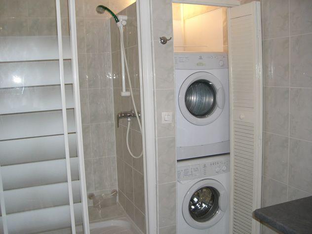 10 best images about remodel ideas bathroom on pinterest - Lavadora y secadora en columna ...