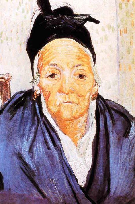Vincent Van Gogh - Post Impressionism - Arles - La Vieille arlésienne - 1888