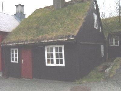 Faroe Islands  -Torshavn old town typical home