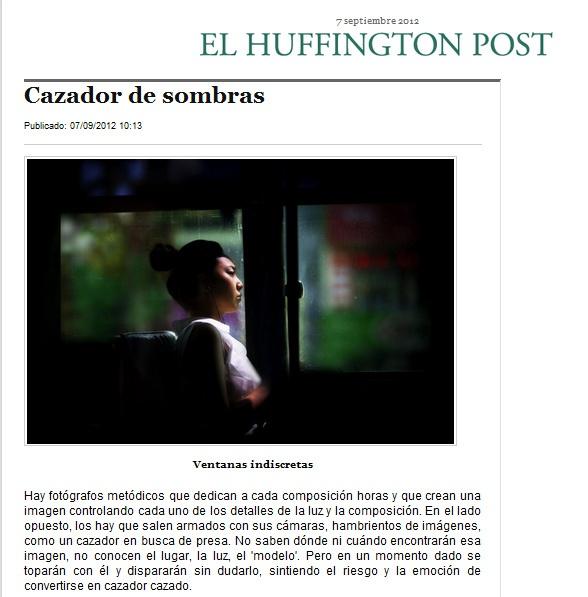 Post Huffington: Billy Gomez / Shadow Hunter, photo by una cierta mirada on Flickr