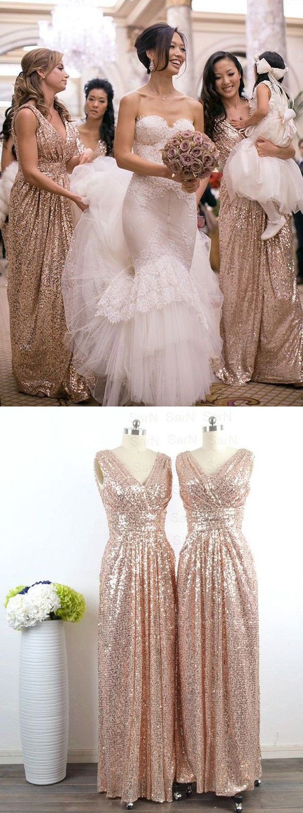 17 Best ideas about Sequin Wedding Dresses on Pinterest | Sequin ...
