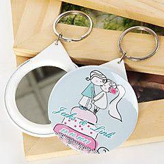 gepersonaliseerde spiegel sleutelhanger - kussen (set van 12) – EUR € 10.77