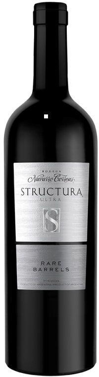 """""""Structura"""" Malbec 54% / Cabernet Sauvignon 30% / Merlot 18% 2011 - Bodega Navarro Correas, Guaymallén, Mendoza--------------------------------- Terroir: Gualtallary (Tupungato), Tunuyán y La Consulta (San Carlos) ----------------------------------- Crianza: 18 meses en barricas nuevas de roble francés"""