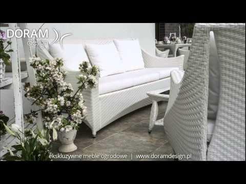 Doram Design meble ogrodowe z technorattanu i nowoczesne