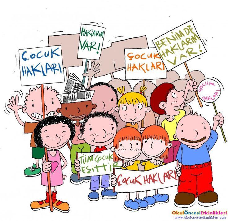 Çocuk Hakları Günü Etkinlik ve Sloganları - OKUL ÖNCESİ ETKİNLİKLERİ - Hayallerinizi Sınırlamayın