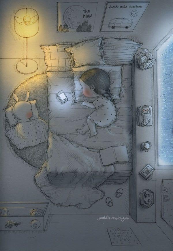 '혹시라도..' 하는 마음에.. 길게 느껴지던 밤. 너무나도 하얗게 느껴지던 밤.  I couldn't stop thinking, 'Perhaps..' Felt that night was so long. And too bright to sleep.
