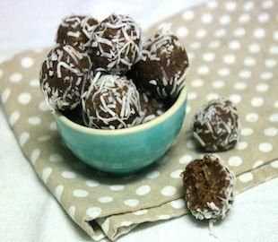Sugar Free Choc Coconut Balls