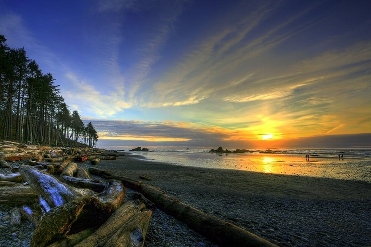 Ruby Beach, Washington state.